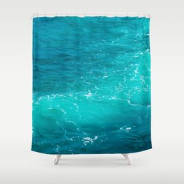 H2Oh, that's cold! Shower Curtain