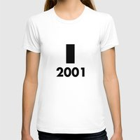 2001 a space odyssey T-shirts featuring 2001: A Minimalist Space Odyssey by João Malossi