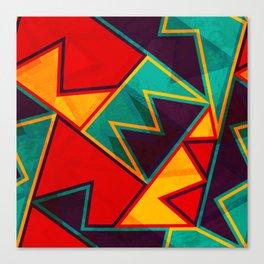 Modernist Triangles Canvas Print