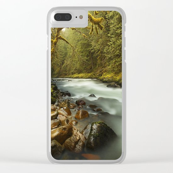 Brook Clear iPhone Case