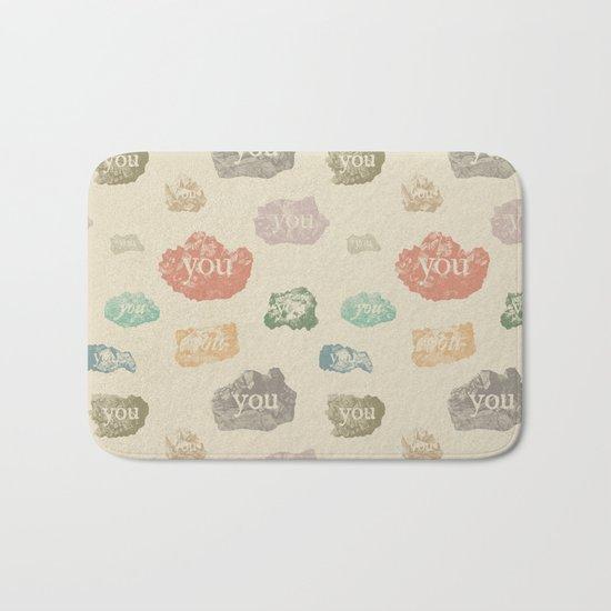 You Rock (Pattern) Bath Mat