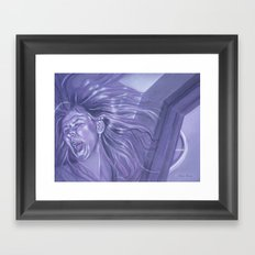 Divided Framed Art Print