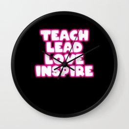 School Kindergarden Class Teacher Wall Clock