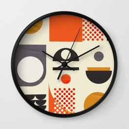 Mid-century no1 Wall Clock