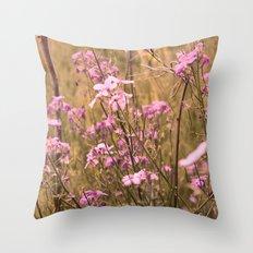 wild flower dreams Throw Pillow