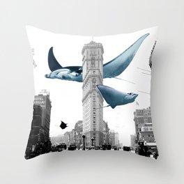 The Invasion Throw Pillow