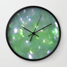 Glitter Bubbling Wall Clock