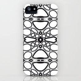 fancy grid iPhone Case