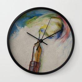 Fountain Pen Wall Clock