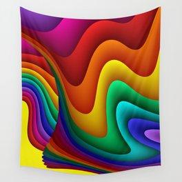 fluid -30- Wall Tapestry