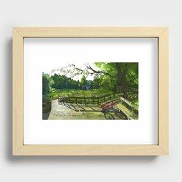 Nature Center Recessed Framed Print
