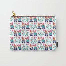 Gnome Love Pattern Carry-All Pouch