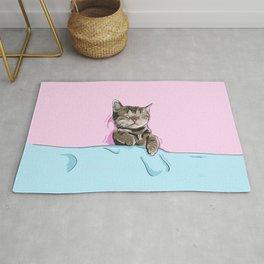 Sleeping Cat Rug