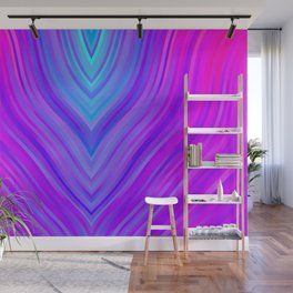 stripes wave pattern 3 sm120i Wall Mural