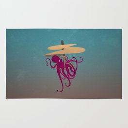 Flying Octopus Rug