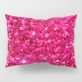 SparklE Hot Pink Pillow Sham