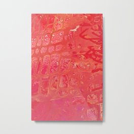 Textures & contrast 1 Metal Print