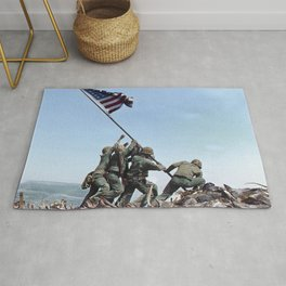 Iwo Jima Color Rug