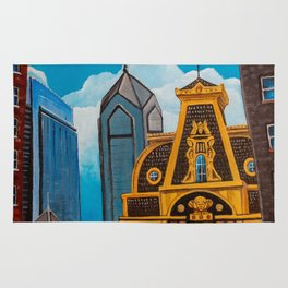 Philadelphia City Buildings Rug