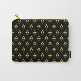 triforce pattern -black- Carry-All Pouch