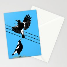 Magpies: learn to fly Stationery Cards