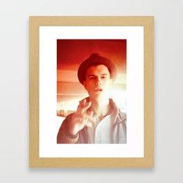 jason h Framed Art Print