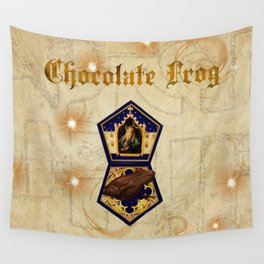 Chocolate Frog Wall Tapestry