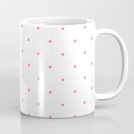 Pink Polka Dots Coffee Mug