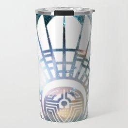 Crop Circle in Space Travel Mug