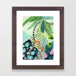 Tropical Jungles Framed Art Print