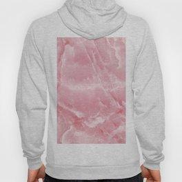 Pink Onyx Marble Hoody