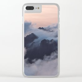 Higher we go Clear iPhone Case