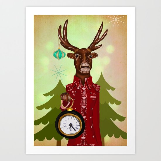 time for christmas Art Print