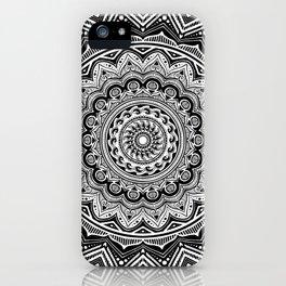 Mandala 77 iPhone Case