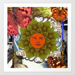 Energy Of The Sun Art Print