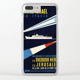 Nautical Art 83 Clear iPhone Case