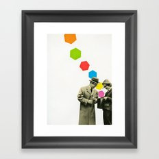 Look What I Brought! Framed Art Print