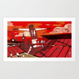 Thierry Henry Art Print