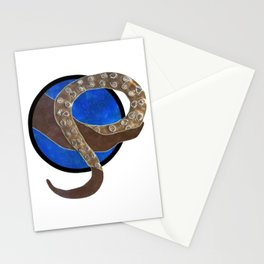 Creature of Water (porthole edit) Stationery Cards