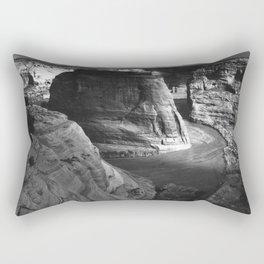 Canyon de Chelly (1941) Ansel Adams Photography Rectangular Pillow