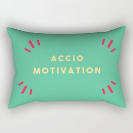 Accio Motivation Rectangular Pillow