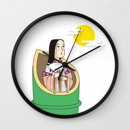 Kaguya-hime Wall Clock