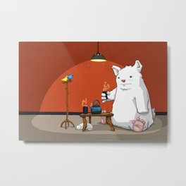 Tea for Three Metal Print