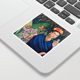 Frida et sa nature vivante Sticker
