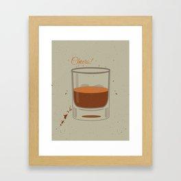 Cheers Framed Art Print