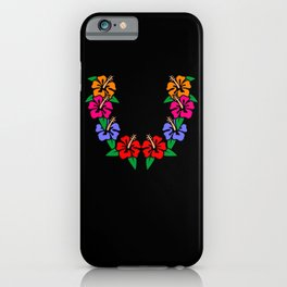 Lei Flower Necklace Aloha Hawaiian Lei Hawaiian iPhone Case