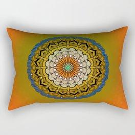Round Colorful Design Rectangular Pillow
