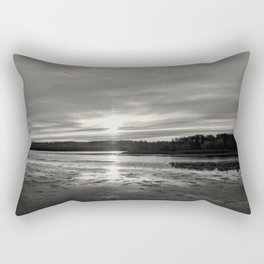 Barefoot Kayaking  Rectangular Pillow