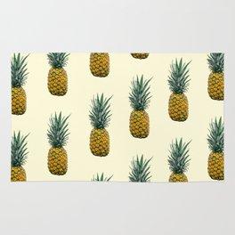 Yellow Pineapple Rug