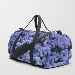 Ageratum Flowers Duffle Bag